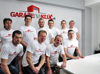 Das Team von Garazenakluc.sk