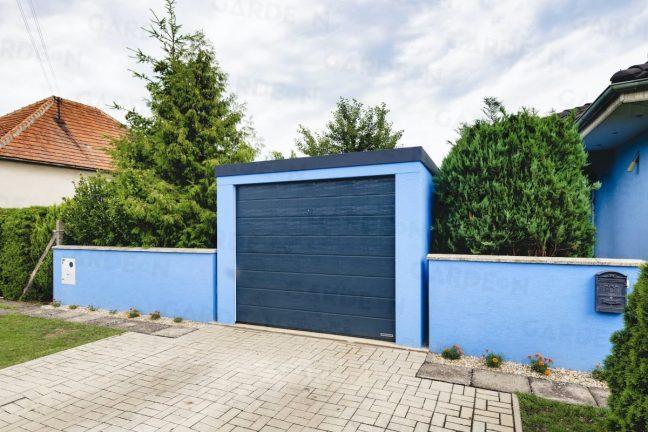 Einzelgarage von GARDEON in hell-blau