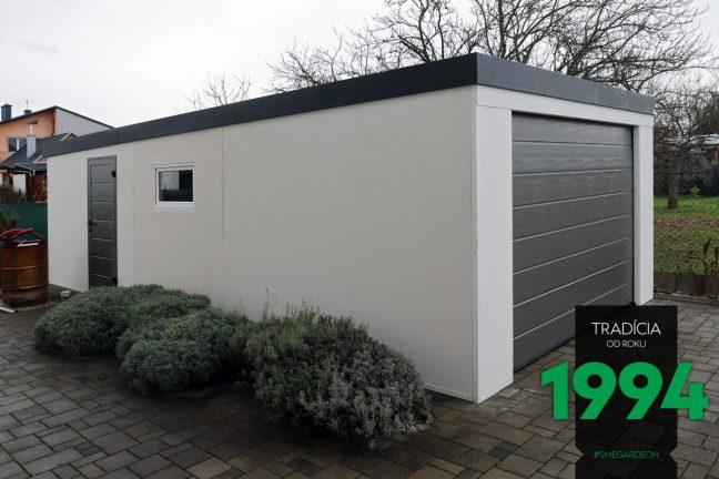 GARDEON - maßangefertigte Garage in weiß
