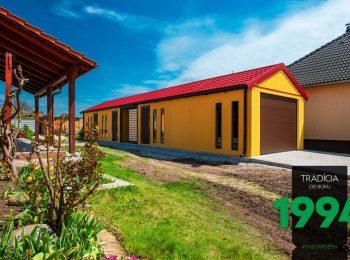 GARDEON: Lange gelbe Garage - Maßanfertigung