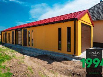Individuelles Bauwerk von GARDEON in gelb