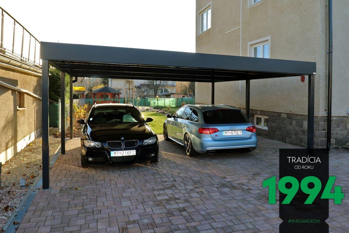 GARDEON Doppelcarport schützt 2 Autos