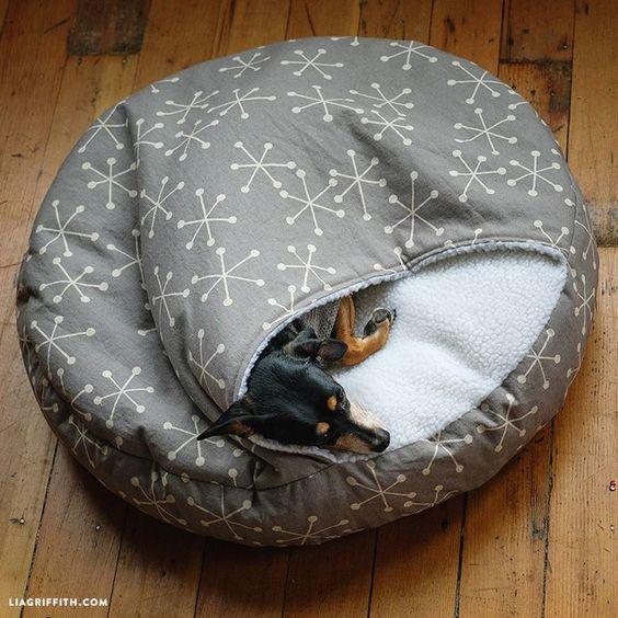 Ein Schlafkissen für den Hund