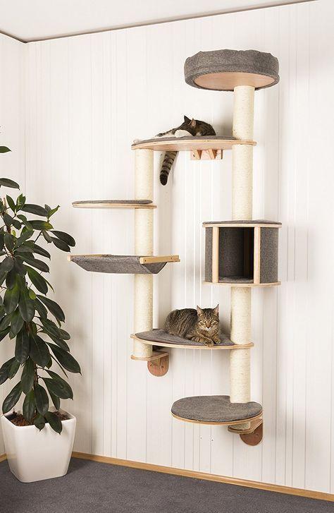 Ein Aufhänge-Bäumchen für die Katzen