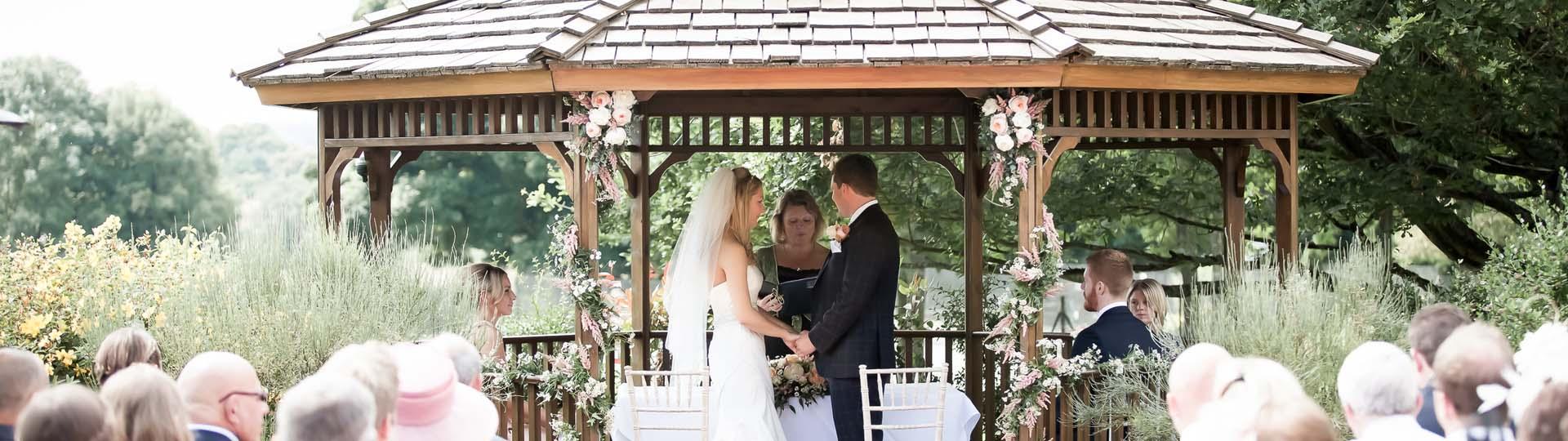 Eine Hochzeit im Altan