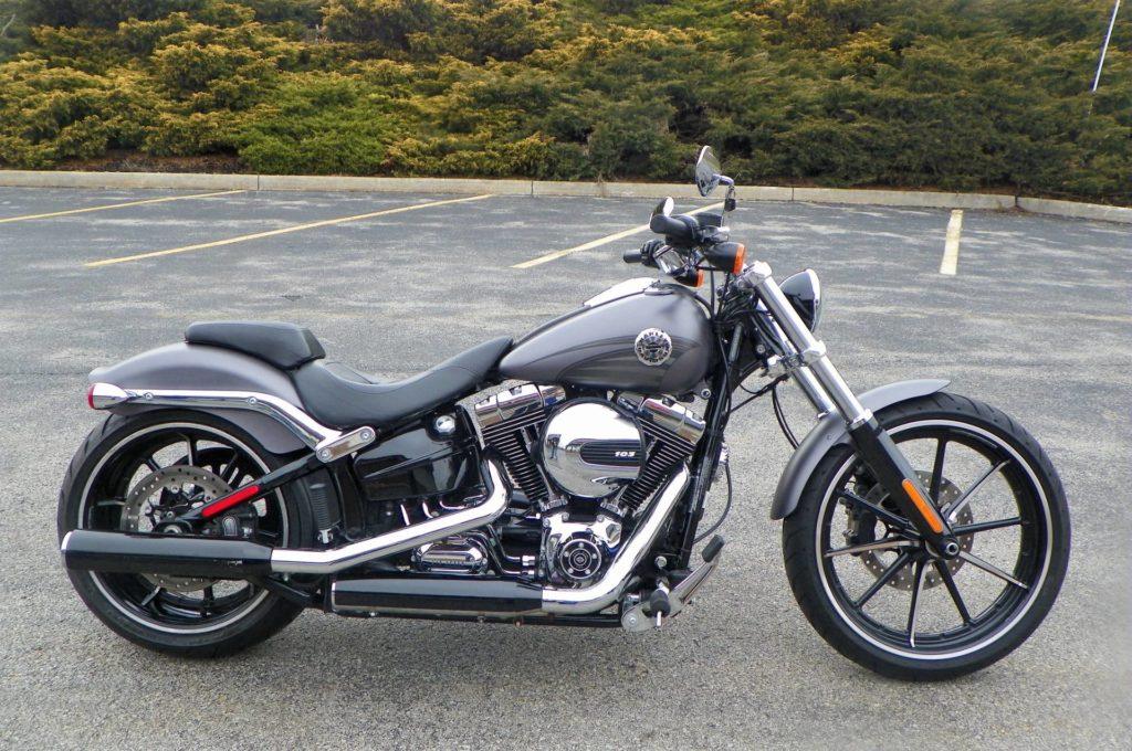 Motorrad von Harley Davidson