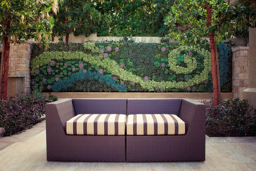 Sofa aus Ratan