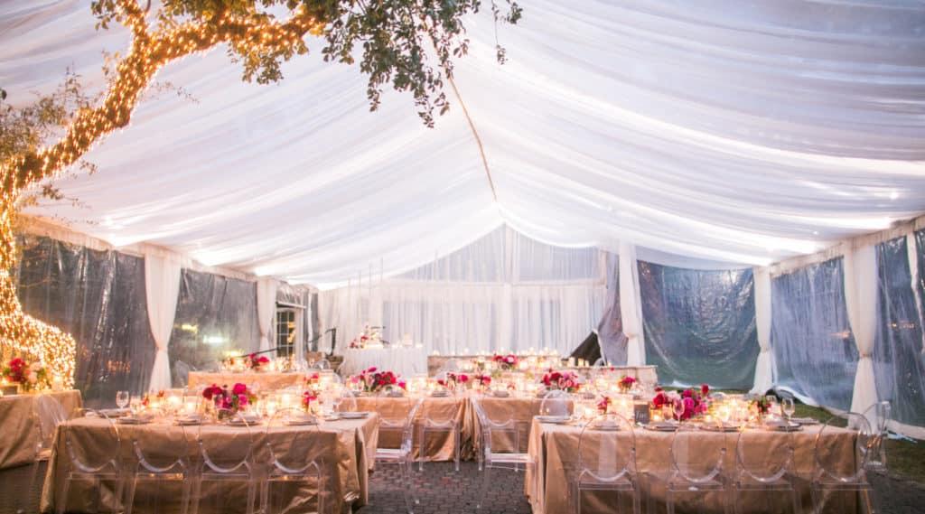 Hochzeitszelt