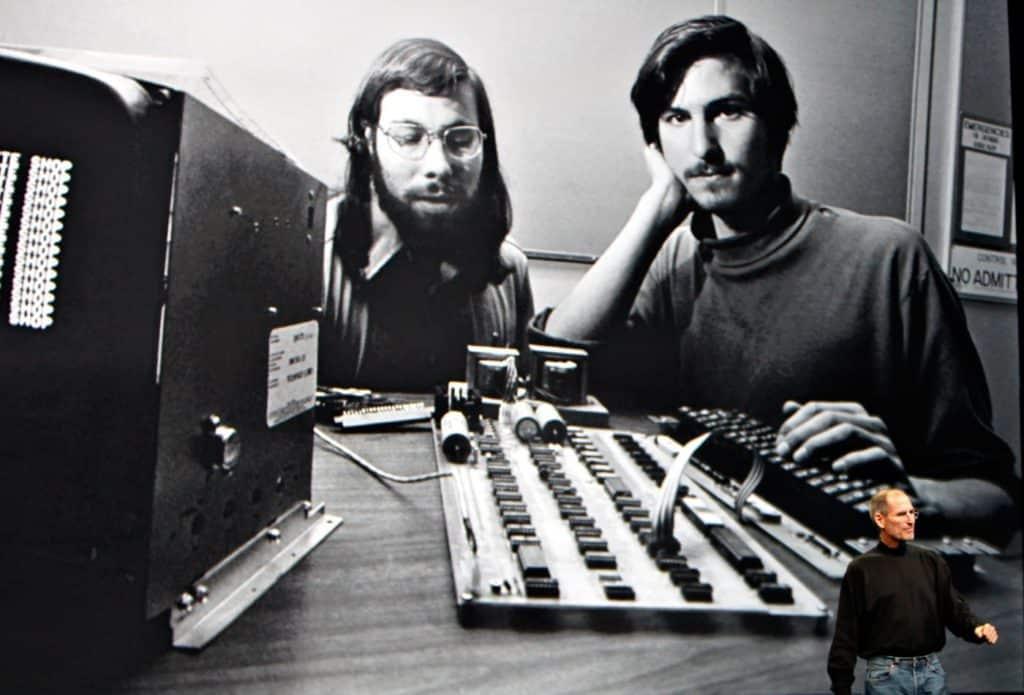 Steve Jobs und Steve Wozniak