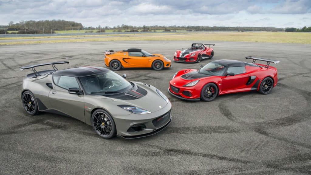 Autos von Lotus