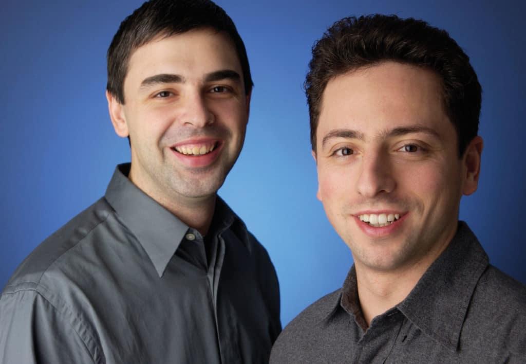 Larry Page und Sergey Brin