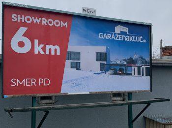 Unser erster Billboard in der Umgebung