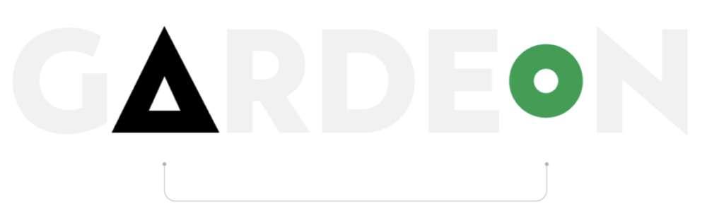 Vývoj loga GARDEON