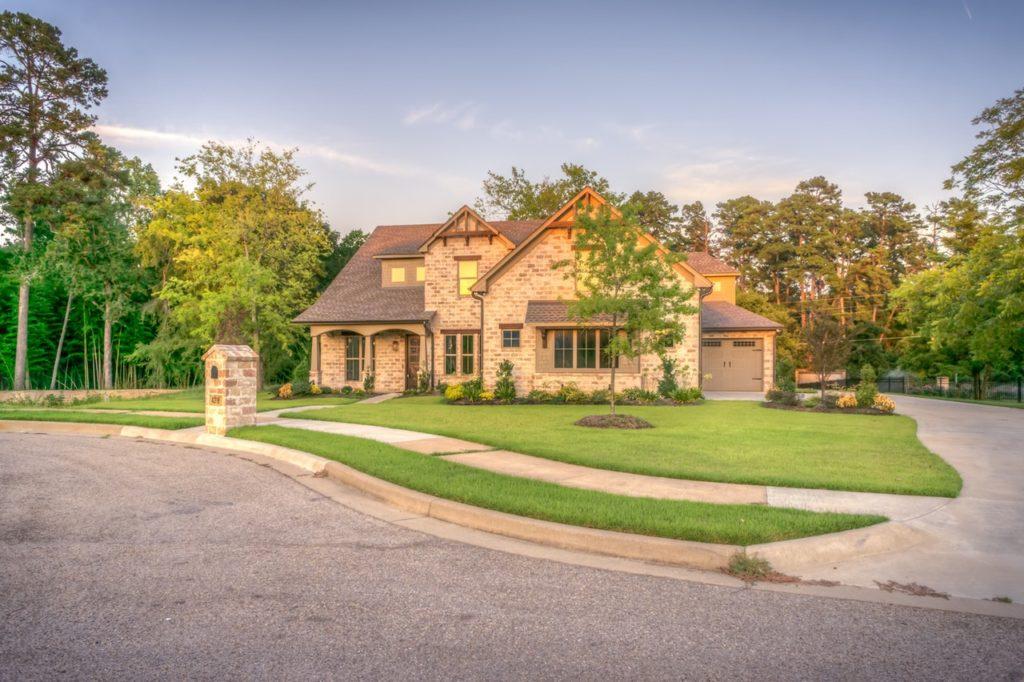 Ein amerikanisches Familienhaus