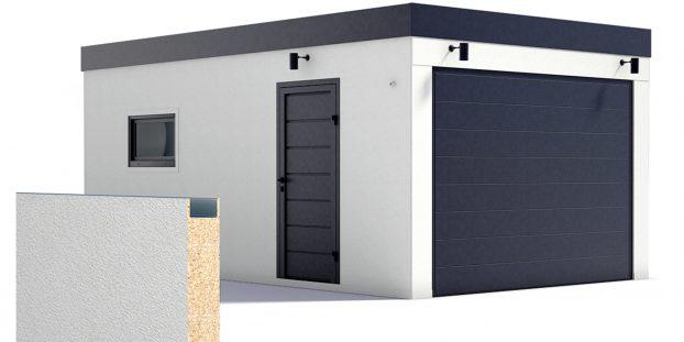 Eine isolierte Garage