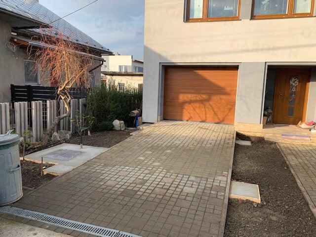 Fußpunkte aus Beton