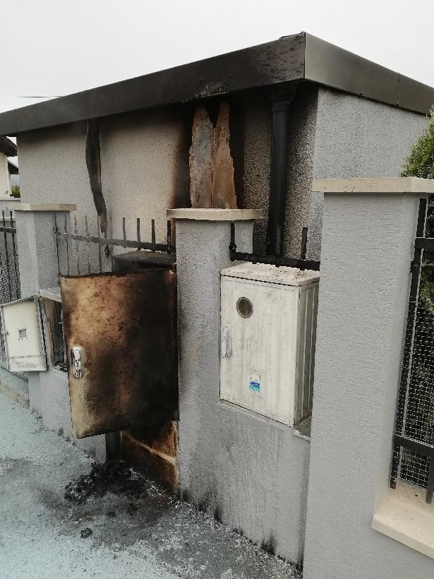 Feuerausbruch in einem Gartenhaus von GARDEON
