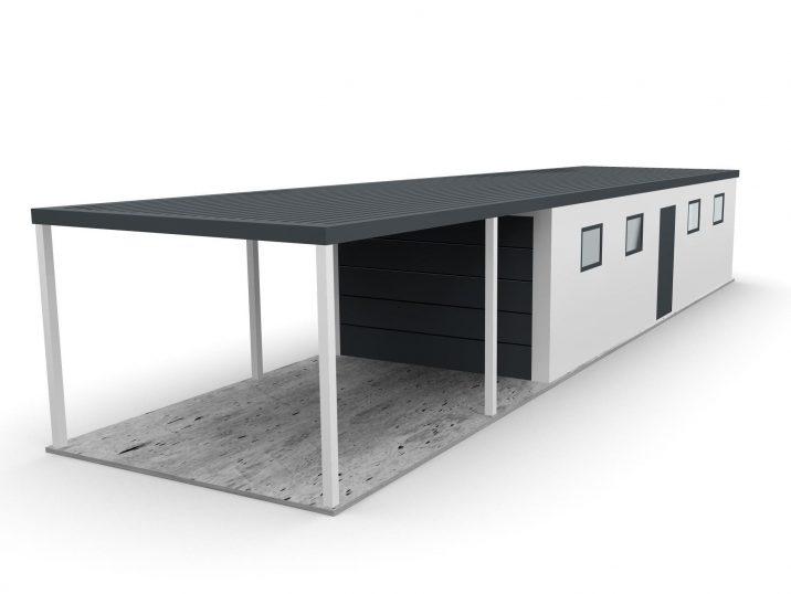 Eine atypische Garage