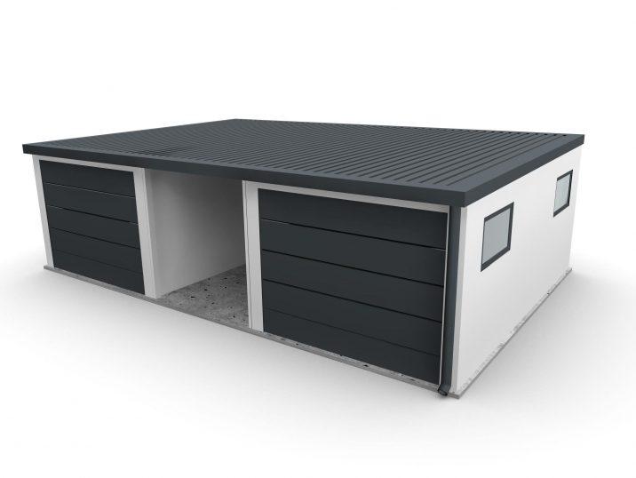 Garagen für 2 Autos mit einer Überdachung