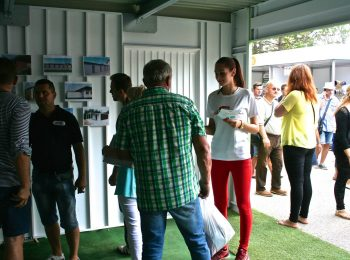Die Ausstellung in Nitra