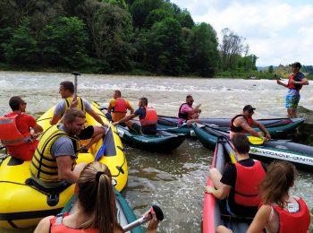 Rafting am Dunajec