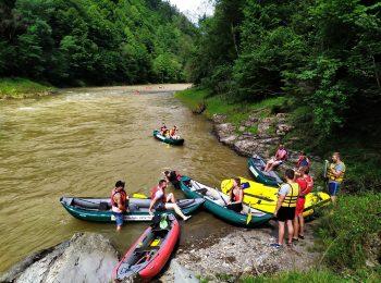 Rafting in der Ostslowakei