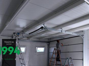 Der Verlauf der Garagenmontage