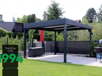 GARDEON Design-Pergola aus Stahl