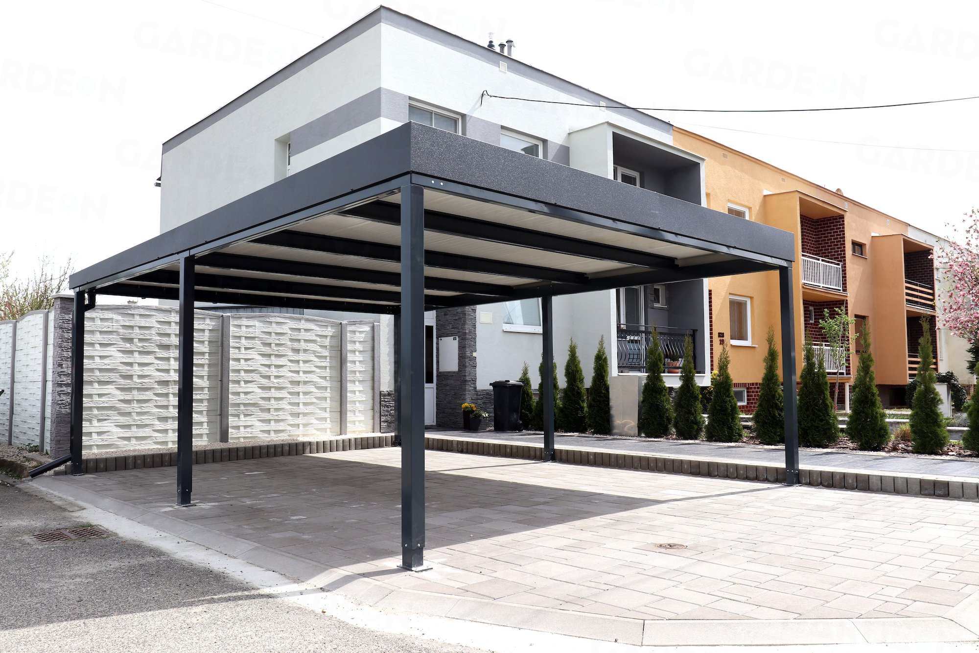 Das GARDEON Carport mit Dachdämmung