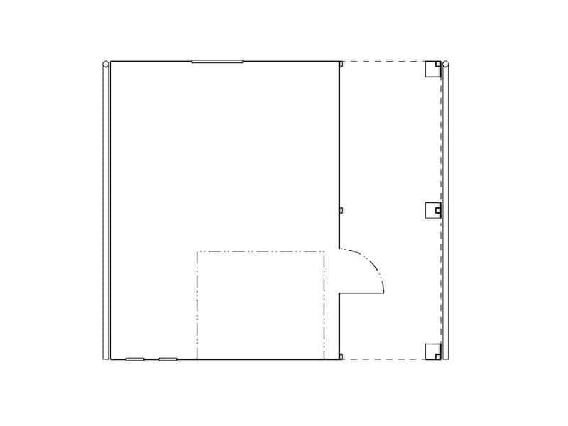 Skizze des geplanten Bauwerks