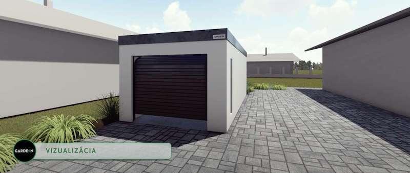 Visualisation der GARDEON Garagen