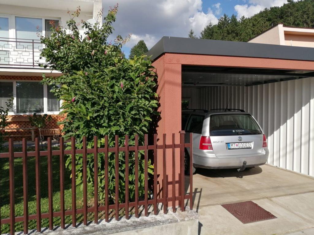 Die Garage unserer Mitarbeiterin