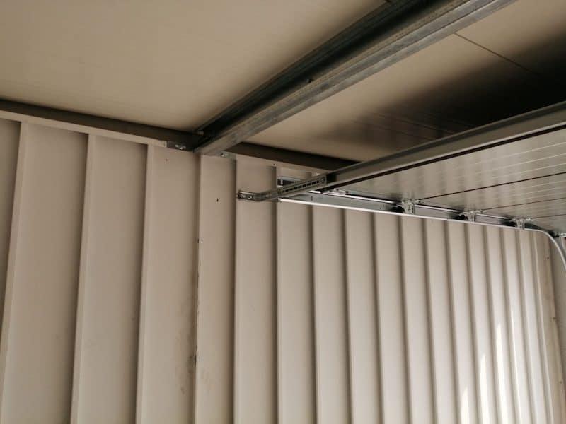 Detail an den Aufbau der GARDEON Garage