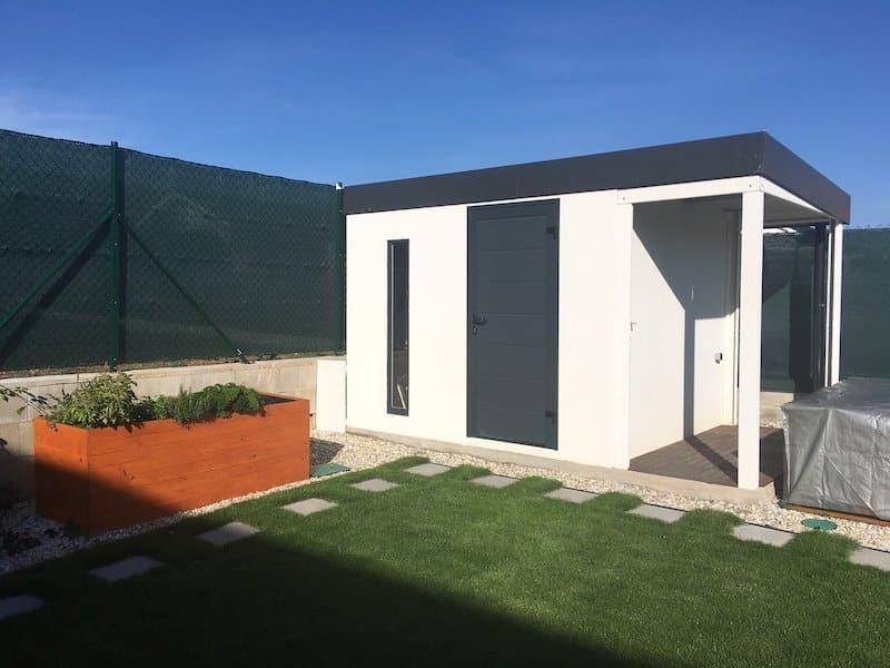 GARDEON Gartenhaus im schlichten Design