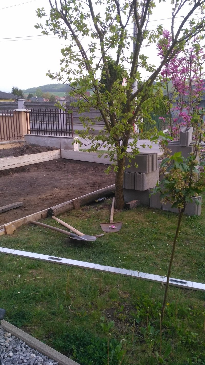 Vorbereitung des Fundaments