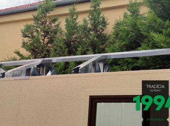 Die Konstruktion eines Satteldachs