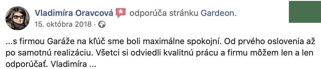 Die Rezension von Frau Oravcová