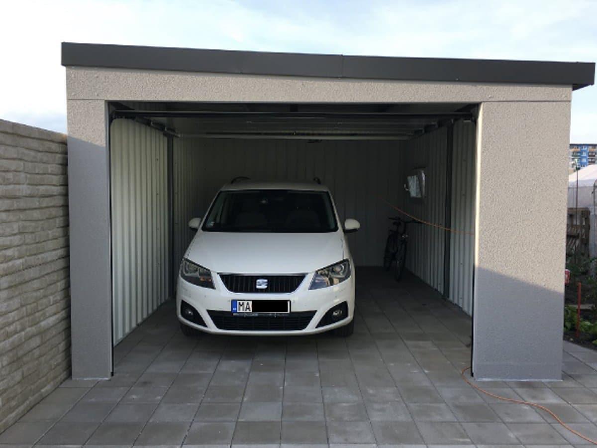 Eine Garage unseres Kunden - GARDEON