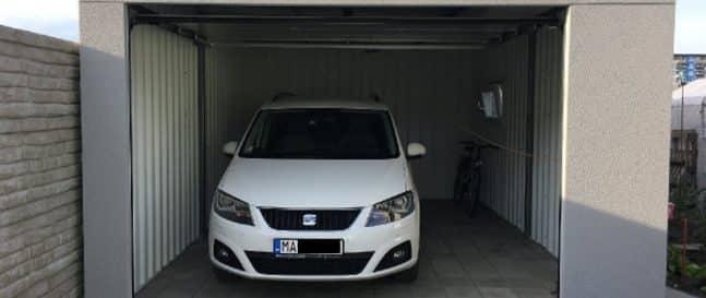 eine unisolierte Garage von GARDEON