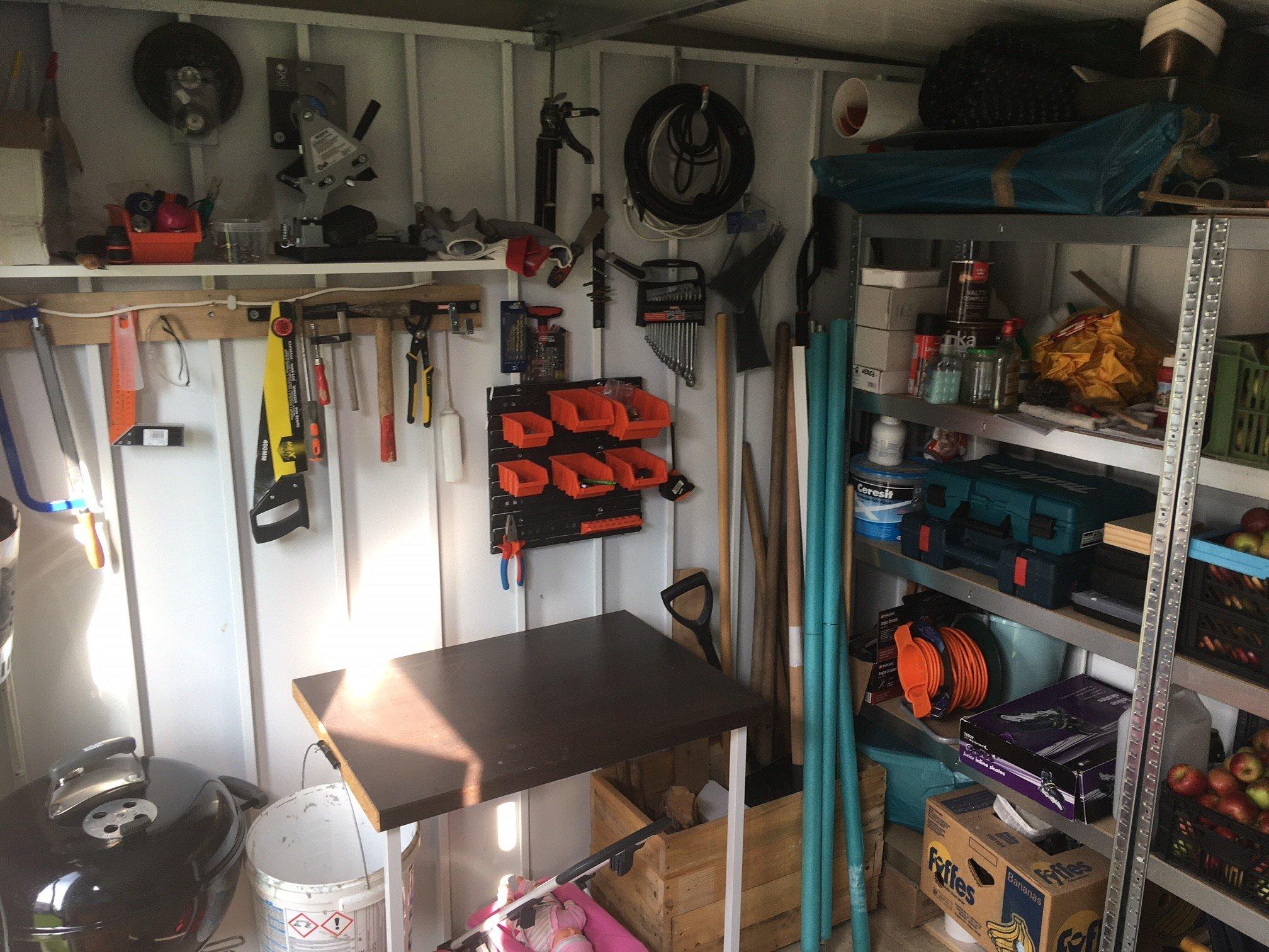 GARDEON - Foto des jetzigen Zustands der Garage