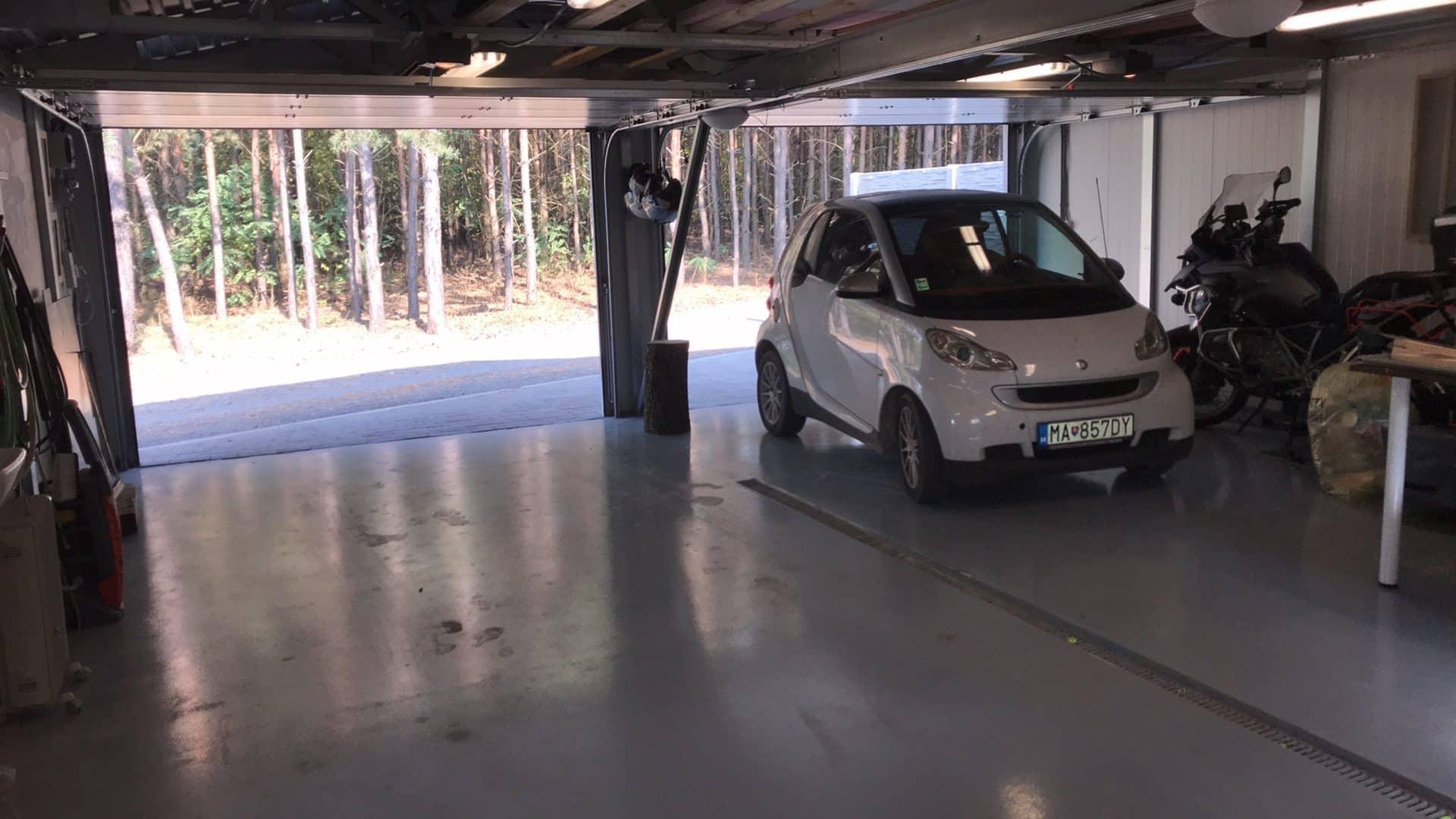 GARDEON - der Boden einer Garage