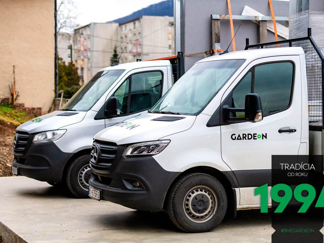 GARDEON Vans bei einer Montage