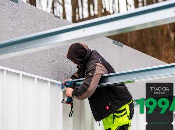 Die Befestigung der Dachträger