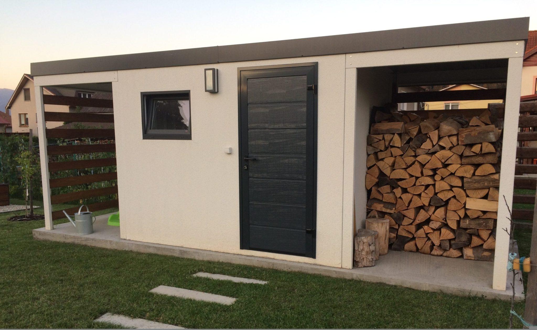 Foto vom Kunden - Holzlagerung