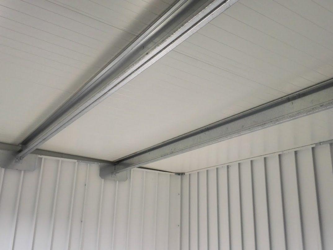 GARDEON - isoliertes Dach und unisolierte Wände