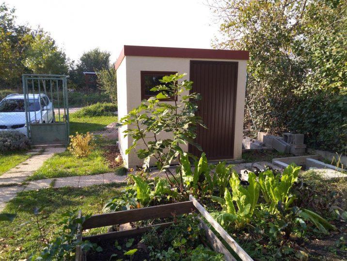 GARDEON Gartenhaus als wartungsfreier Lagerraum