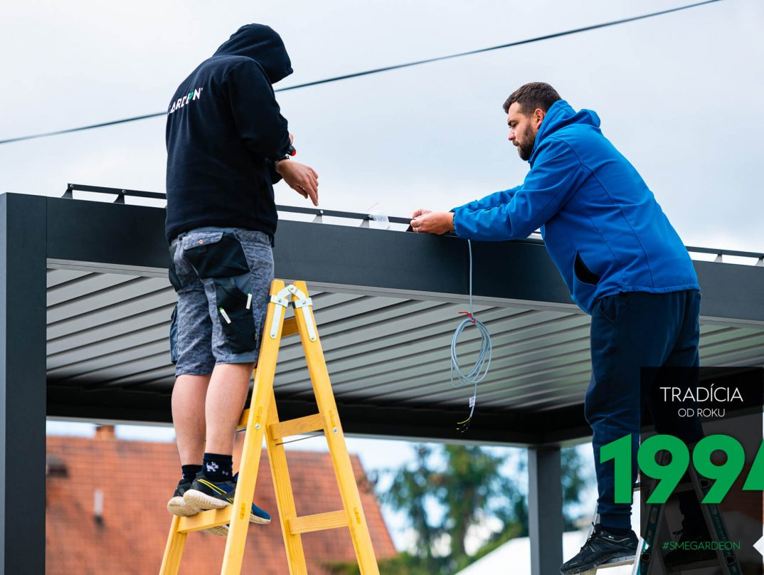Die Montage der steuerbaren Dachpaneele