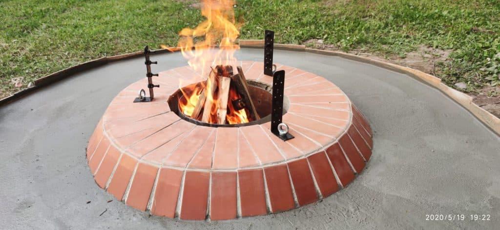 DIY Feuerplatz