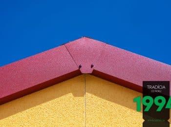GARDEON: Detail an die Verbindung bei einem Satteldach