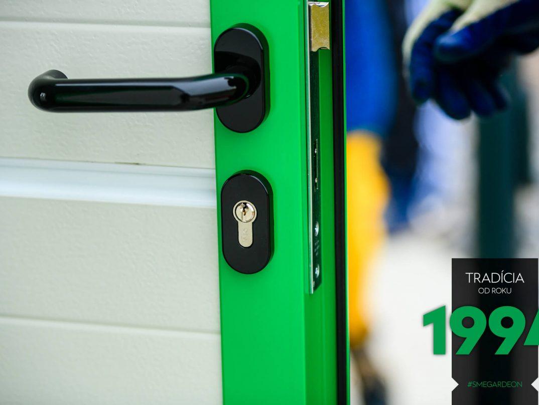 Detailfoto - fertigmontierte Tür